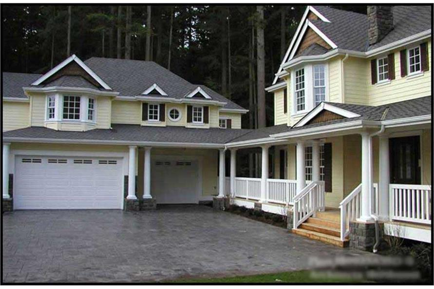 Main image for house plan # 15130