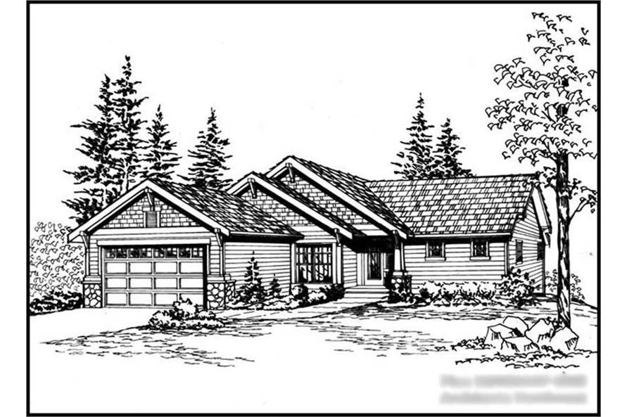Main image for house plan # 15266