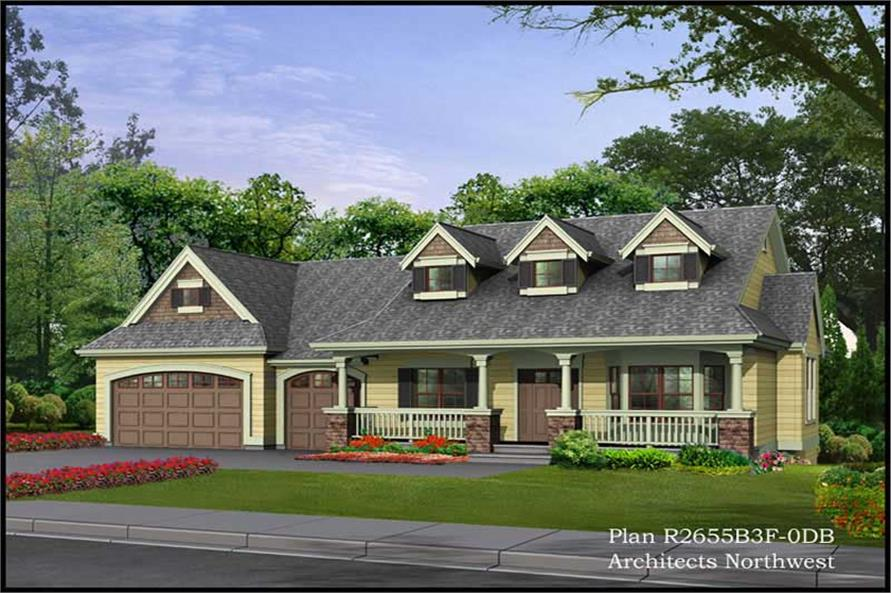 Main image for house plan # 15264