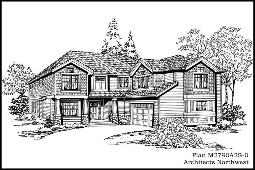 Main image for house plan # 14796