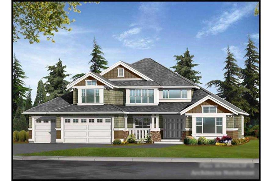 Main image for house plan # 9323