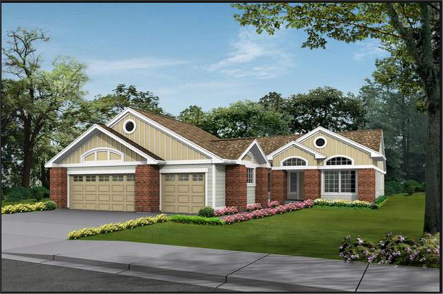Main image for house plan # 15210