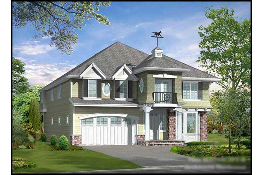 Main image for house plan # 15004