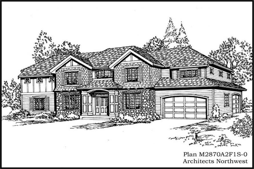 Main image for house plan # 14813