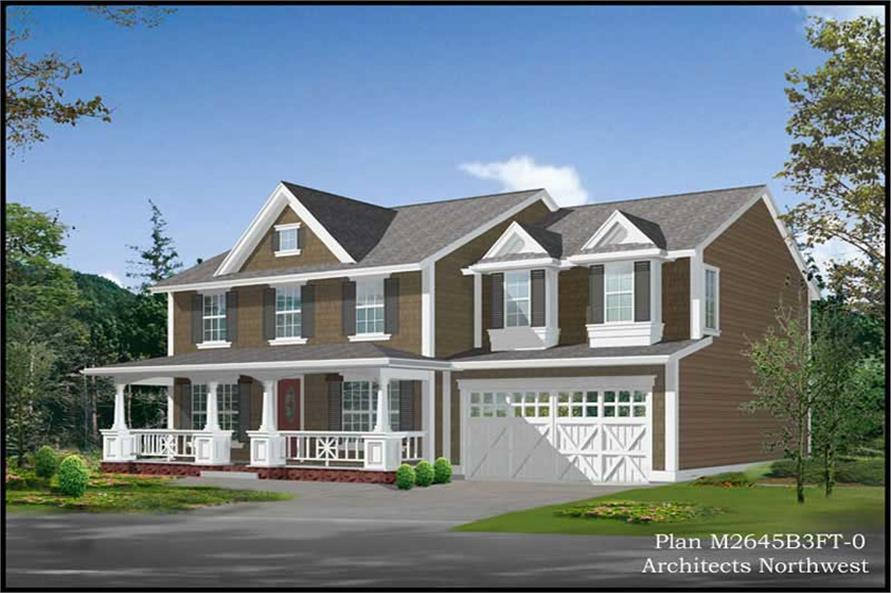 Main image for house plan # 9272