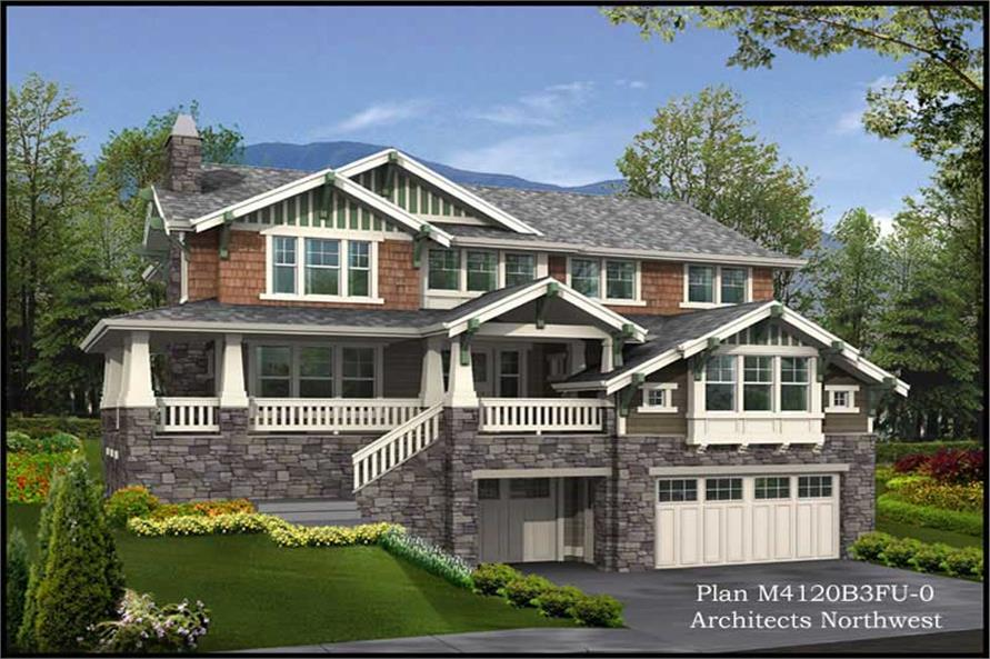 Main image for house plan # 15054