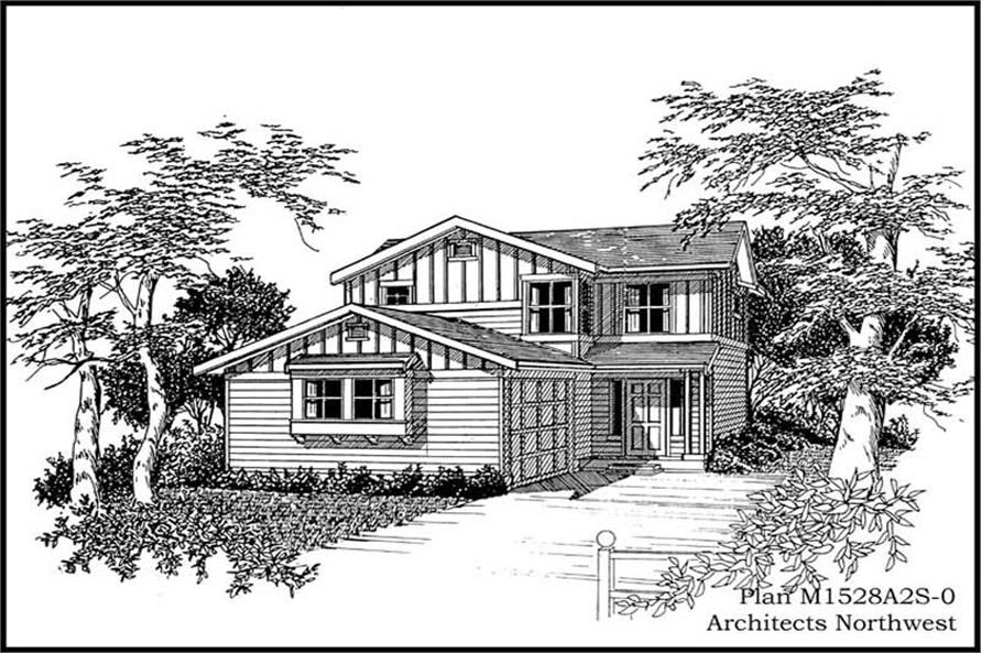 Main image for house plan # 14608
