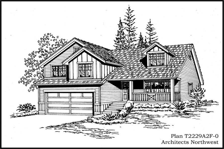 Main image for house plan # 15309