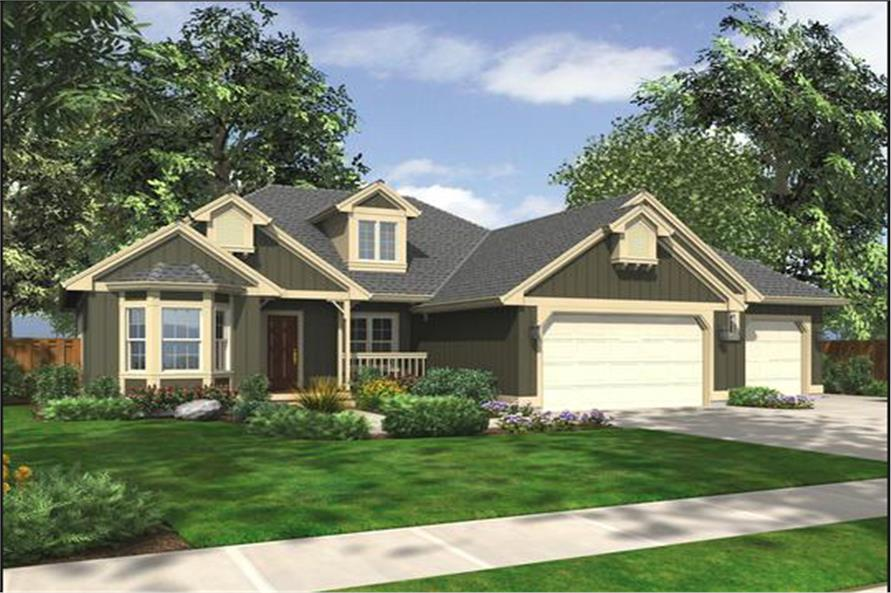 Main image for house plan # 15207
