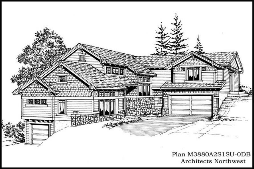 Main image for house plan # 15032