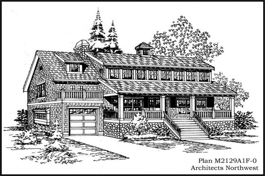 Main image for house plan # 14661