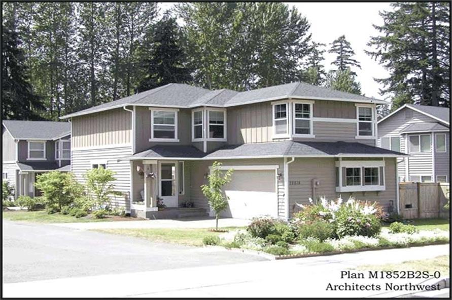 Main image for house plan # 14632