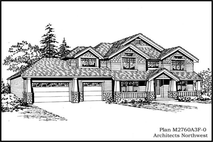 Main image for house plan # 14787