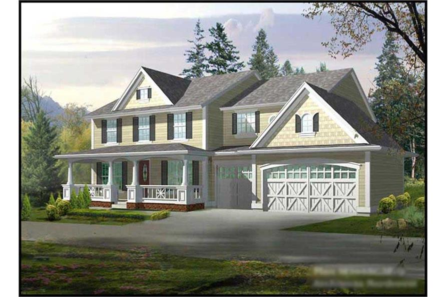 Main image for house plan # 14967