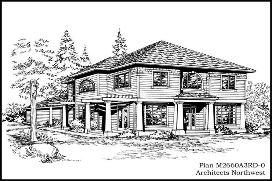 Main image for house plan # 14779
