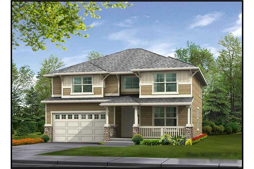 Main image for house plan # 14750