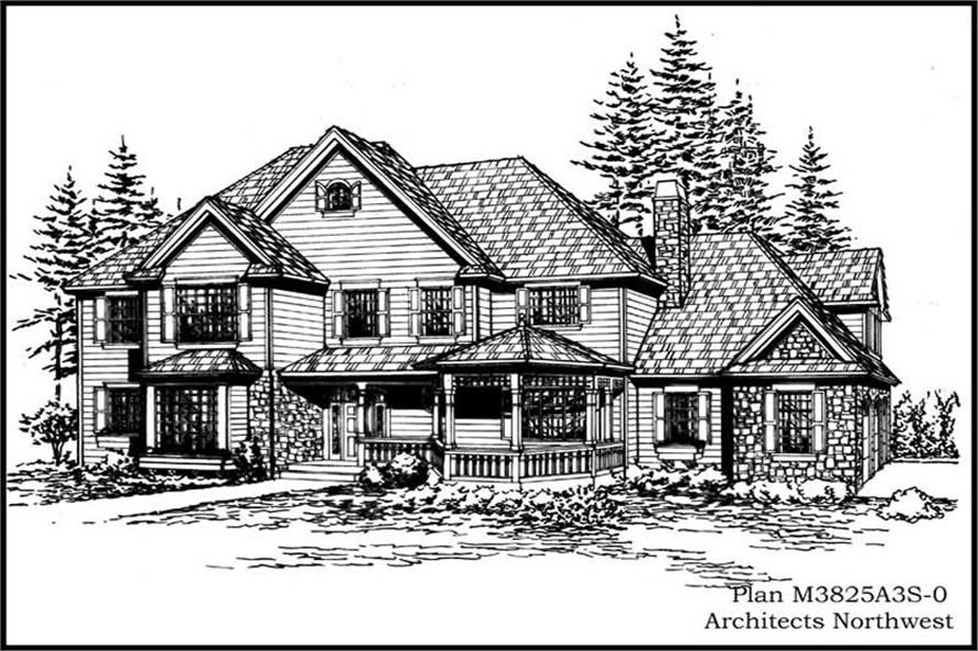 Main image for house plan # 15030