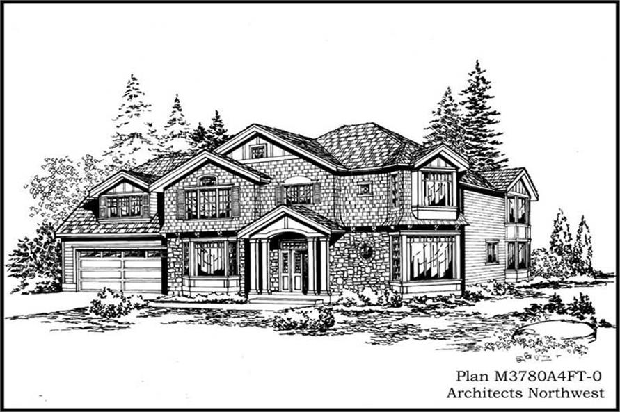 Main image for house plan # 15029