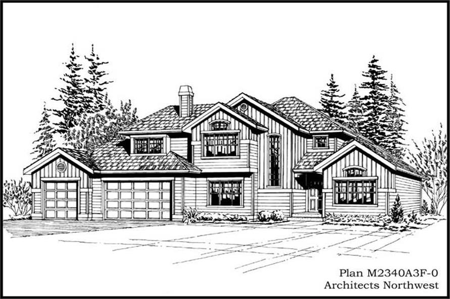 Main image for house plan # 14690
