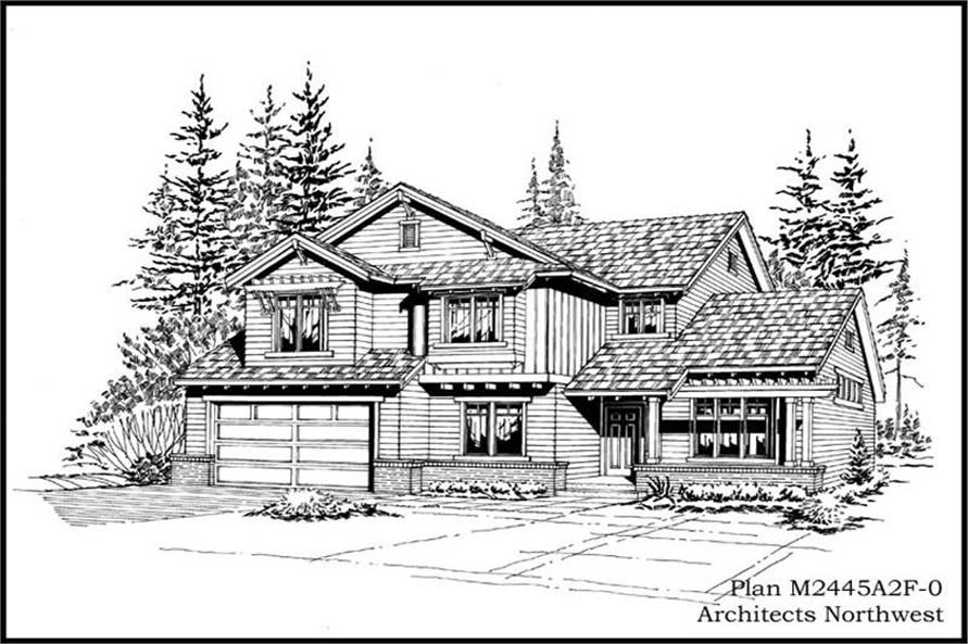 Main image for house plan # 14708