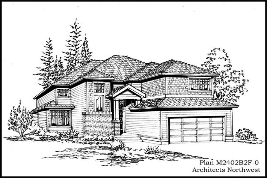 Main image for house plan # 14700