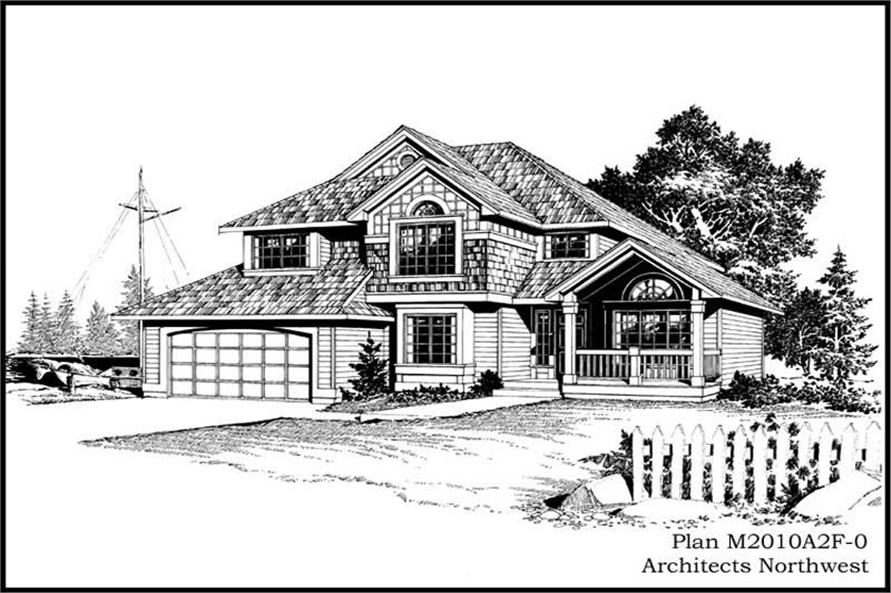 Main image for house plan # 14652