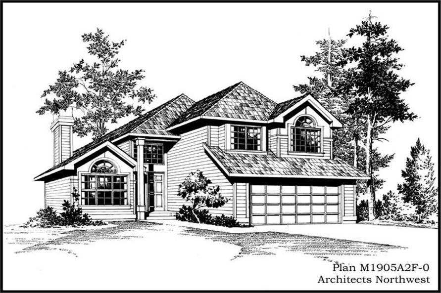 Main image for house plan # 14636