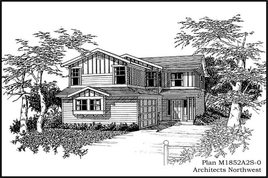 Main image for house plan # 14631