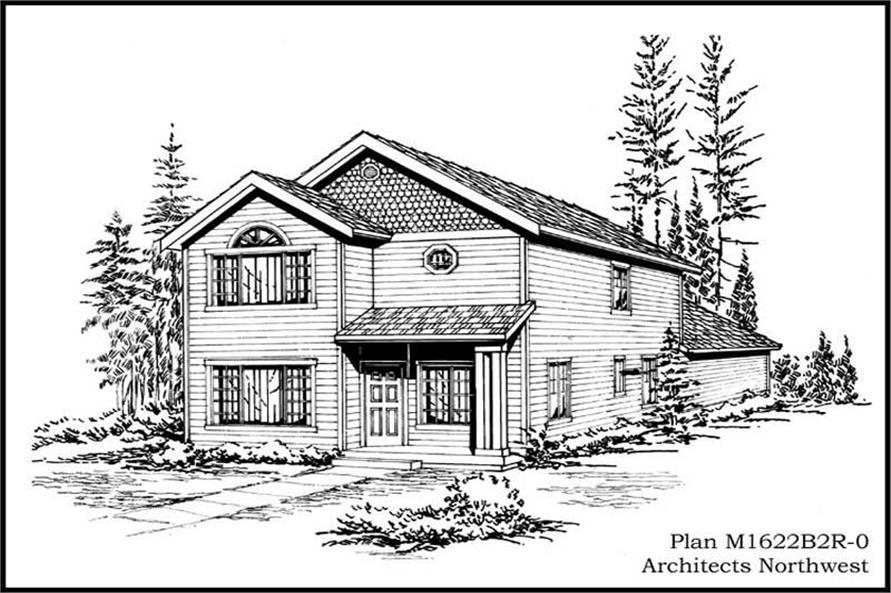 Main image for house plan # 14615