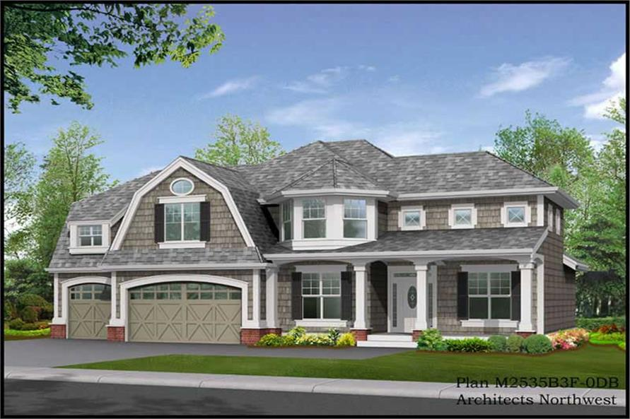Main image for house plan # 14742