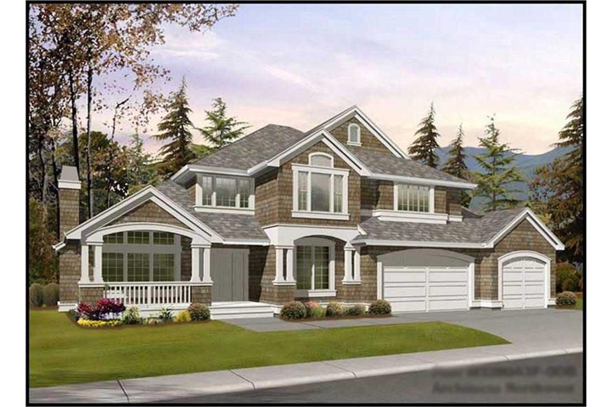 Main image for house plan # 14907