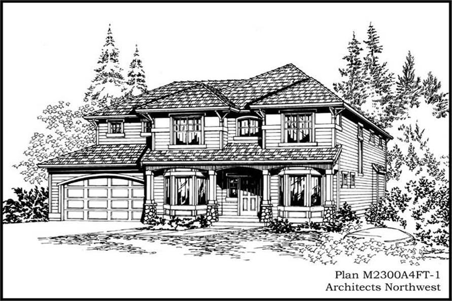 Main image for house plan # 14681