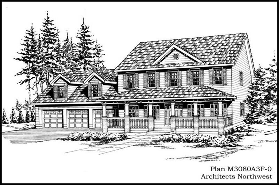 Main image for house plan # 14870