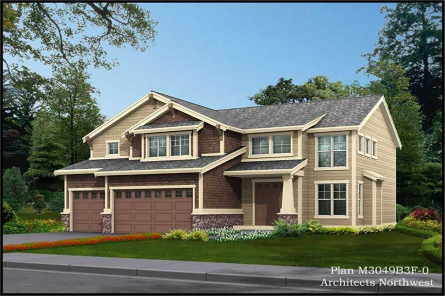 Main image for house plan # 14866
