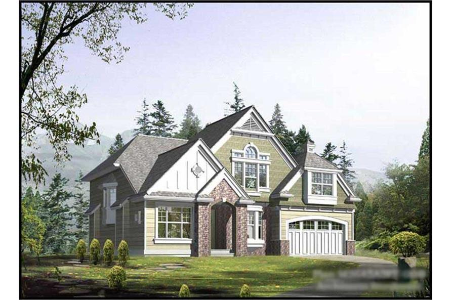 Main image for house plan # 14758
