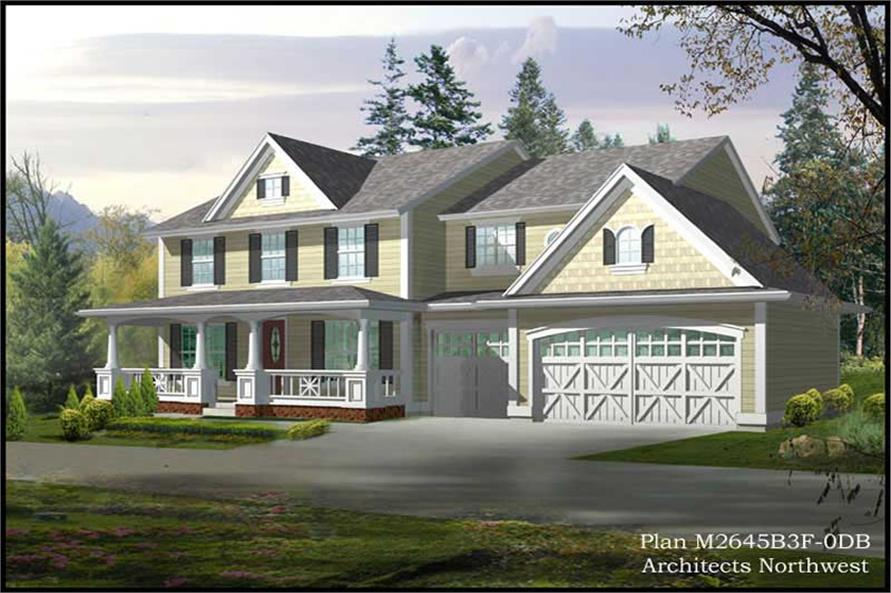 Main image for house plan # 14757