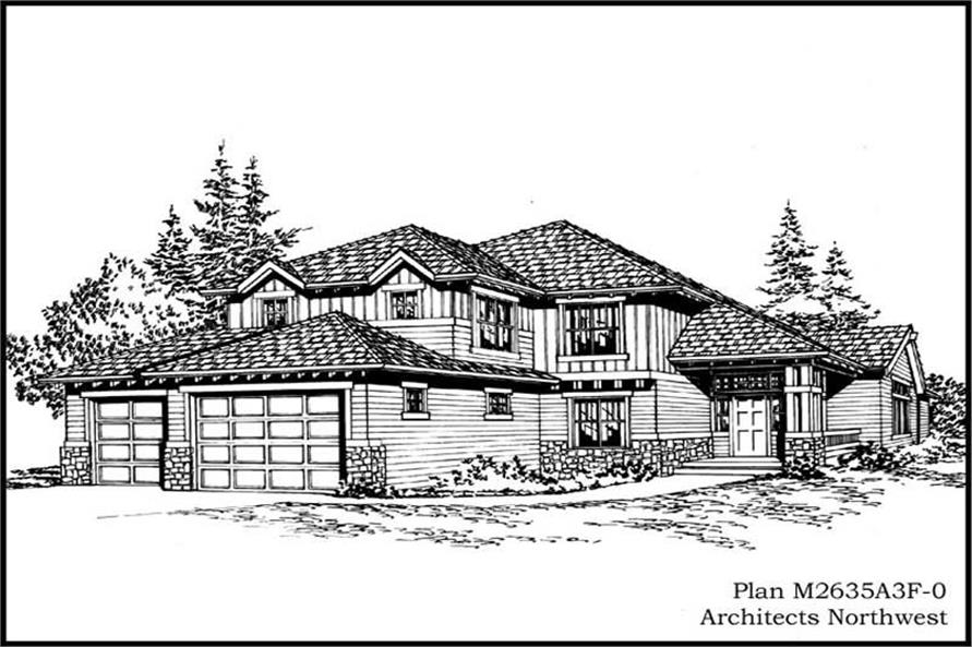 Main image for house plan # 14756