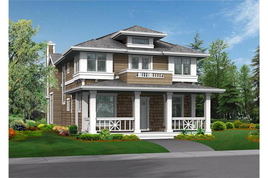 Main image for house plan # 115-1330