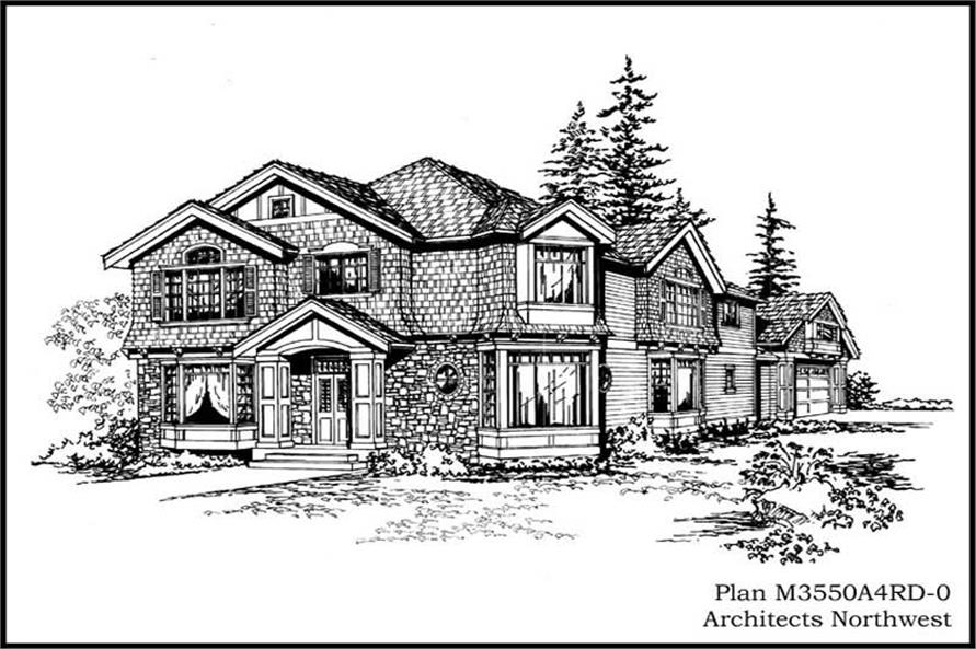 Main image for house plan # 14989