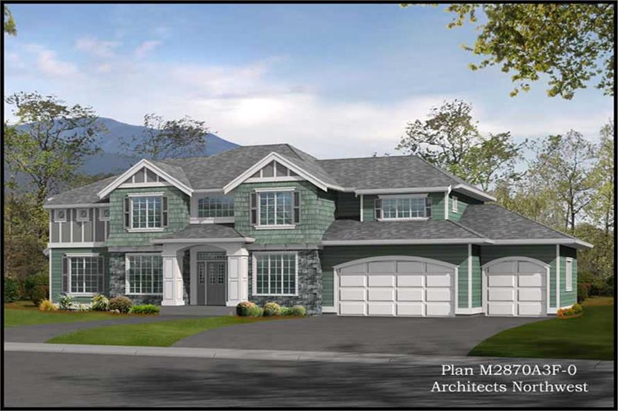 Main image for house plan # 14814
