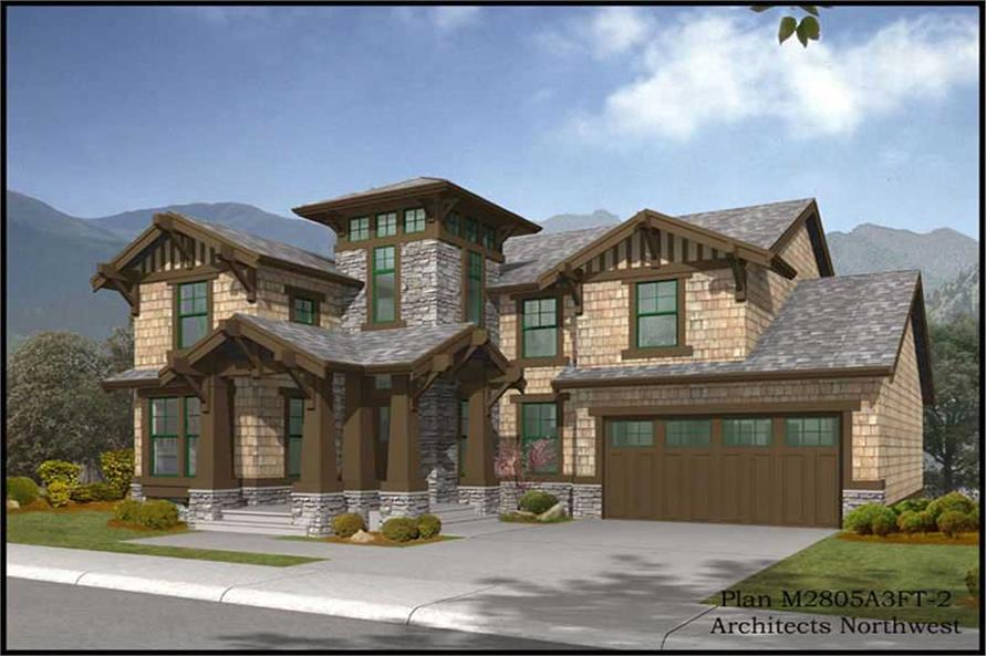 Main image for house plan # 14801