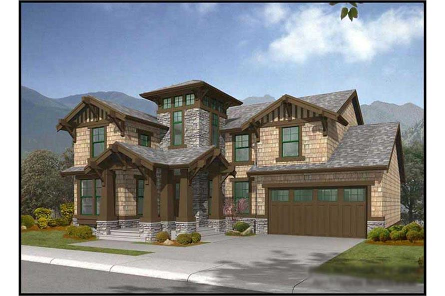 Main image for house plan # 14800