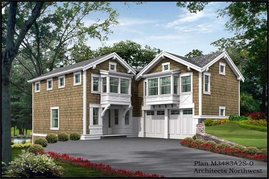Main image for house plan # 14983