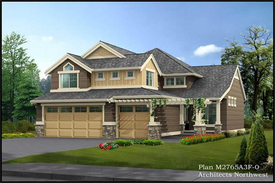 Main image for house plan # 14788
