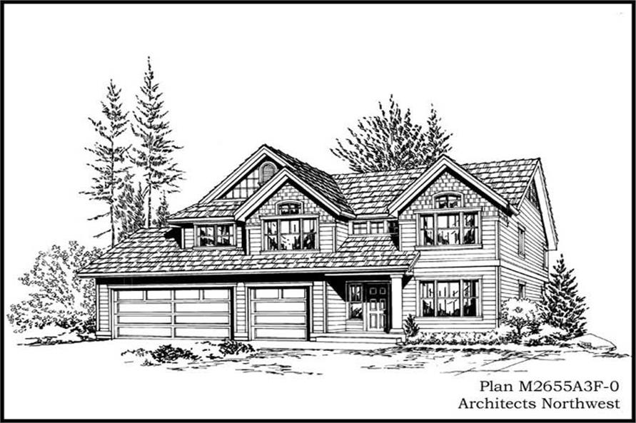 Main image for house plan # 14777