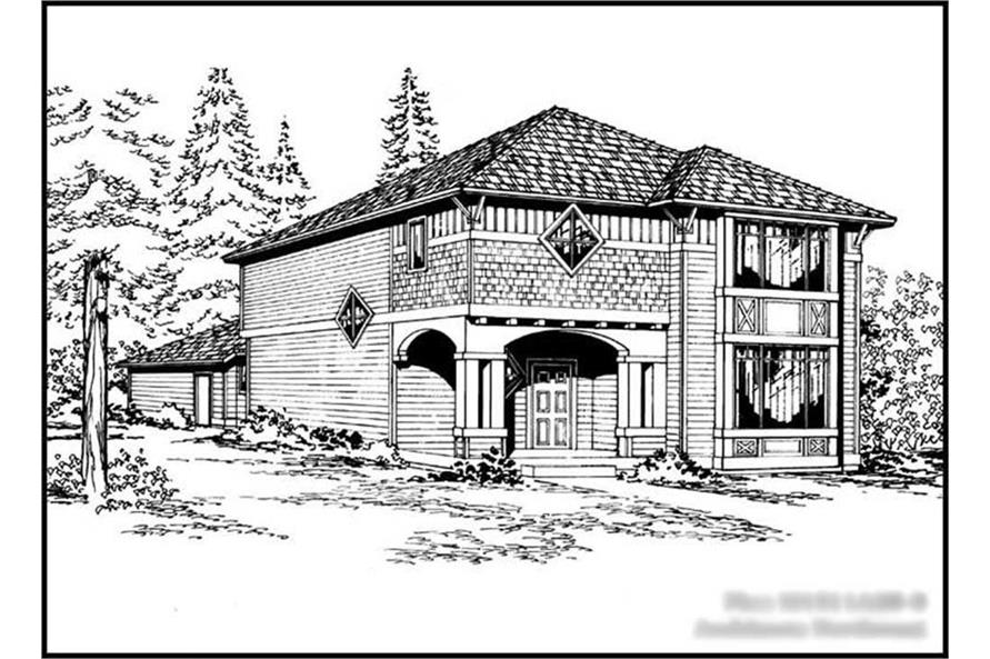 Main image for house plan # 14607