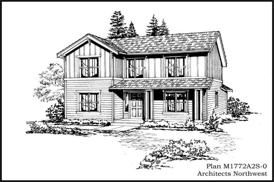 Main image for house plan # 14622