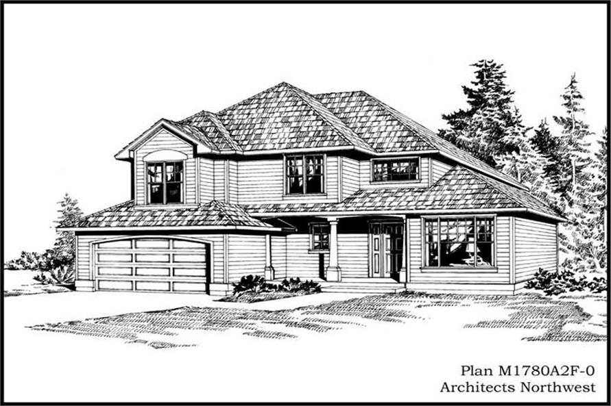 Main image for house plan # 14624