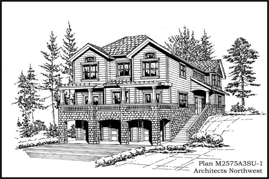 Main image for house plan # 14747