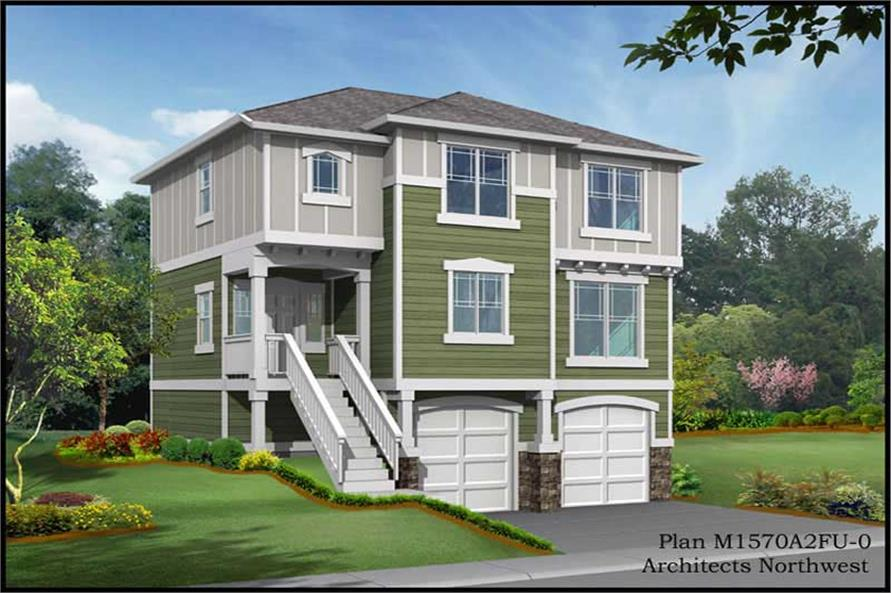 Main image for house plan # 14610